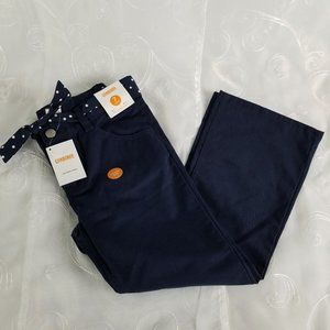 Gymboree Girls 7 Plus Pants Navy Blue